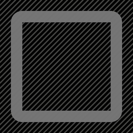 keyboard, stop key icon