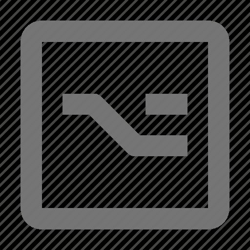 alt, controls, key, keyboard, option, sign, type icon