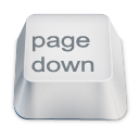 down, page icon