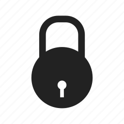 closed, lock, locked, password, secure, security icon