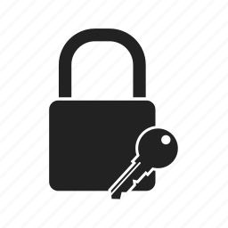 key, lock, locked, password, protection, safe, secure, security, unlock icon