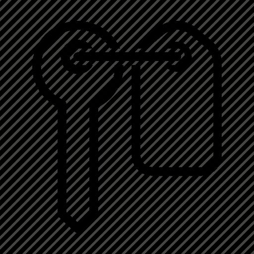 car key, car rental, key icon