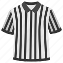 clothing, judge, judgement, soccer, sport, staff, t shirt icon