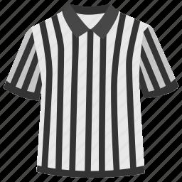 clothing, judge, judgement, soccer, sport, staff, t shirt icon