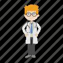 boy, doctor, healthcare, physician icon