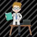 boy, doctor, healthcare, kid, physician icon