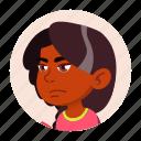 avatar, child, expression, girl, hindu, indian, kid icon