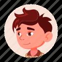avatar, boy, child, emotion, expression, face, kid