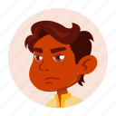 avatar, boy, child, expression, hindu, indian, kid icon