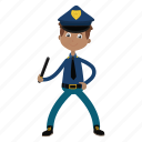 boy, kid, officer, police