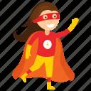 carol danvers, child superhero, comic superhero, girl superhero, superhero cartoon, superhero kid icon