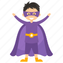 child superhero, comic superhero, magneto, superhero cartoon, superhero kid icon