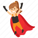 child superhero, comic superhero, scarlet witch, superhero cartoon, superhero kid icon