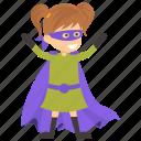 child superhero, comic superhero, harley quinn, superhero cartoon, superhero kid icon