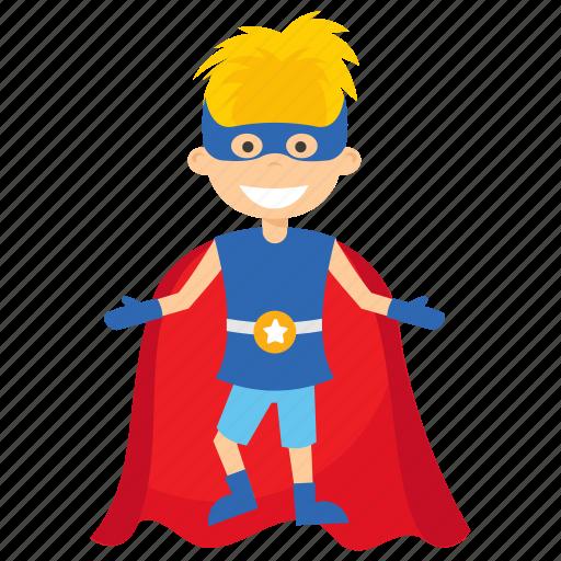 child superhero, comic superhero, kid superman, superhero cartoon, superhero kid icon