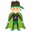 child superhero, comic superhero, superhero, superhero cartoon, superhero kid icon