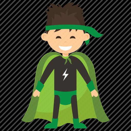 child superhero, comic superhero, superhero, superhero cartoon, superhero kid icon