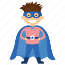 child superhero, comic superhero, mister fantastic, superhero cartoon, superhero kid icon