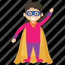 child superhero, comic superhero, scarlet witch, superhero cartoon, superhero kid icon