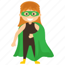 child superhero, comic superhero, miss martian, superhero cartoon, superhero kid icon