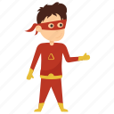 bart allen, child superhero, comic superhero, superhero cartoon, superhero kid icon