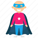child superhero, comic superhero, superhero cartoon, superhero kid, superman kid icon