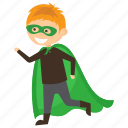 child superhero, comic superhero, robin superhero, superhero cartoon, superhero kid icon