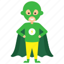child superhero, comic superhero, superhero cartoon, superhero kid, vision superhero icon