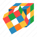cube, rubik, game, cubic, puzzle, toy, entertainment