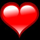 bookmark, heart, love