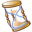 history, hourglass, time icon
