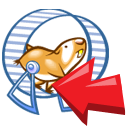 animal, hamster icon