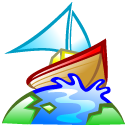 boat, browser, earth, world