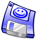 3floppy, disk, unmount icon