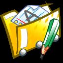 folder, documents