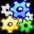 gear, system, wheel icon