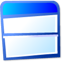 bottom, top, view icon