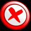 action, agt, fail icon