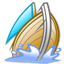 boat, galeon, sail, ship icon