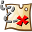 here, map, star, treasure map icon