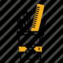 case, kindergarten, pen, pencil, ruler, student, tool icon