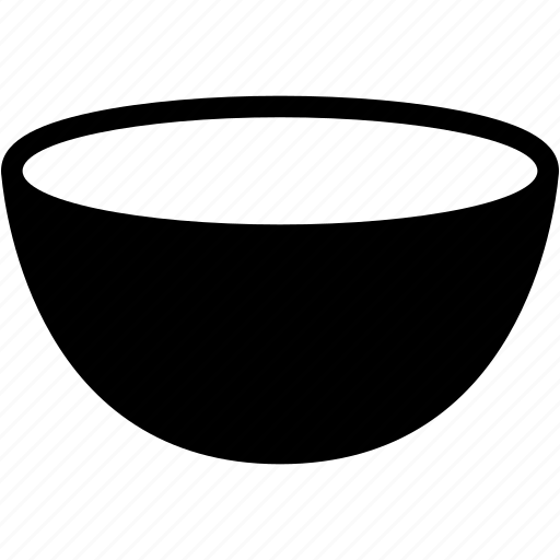bowl, eat, food, kitchen, lunch icon