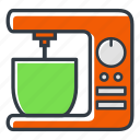 appliance, hand, kitchen, mixer icon