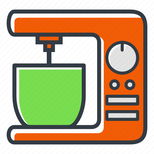 appliance, hand, kitchen, mixer icon
