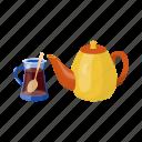 equipment, fixture, glass, kettle, kitchen, tea