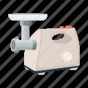 equipment, fixture, kitchen, meat grinder, mincer, tool icon
