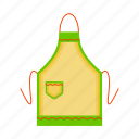 aprons, equipment, kitchen, protective clothing icon