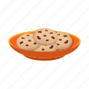 biscuit, dessert, dish, food icon