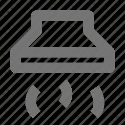 hood, kitchen, vent icon