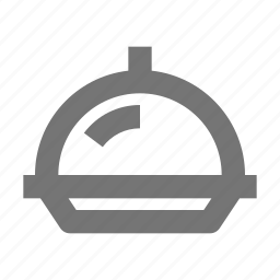 cook, eat, equipment, food, kitchen, meal, restaurant, serving tray icon